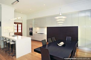 jag kitchen white gloss timber flooring