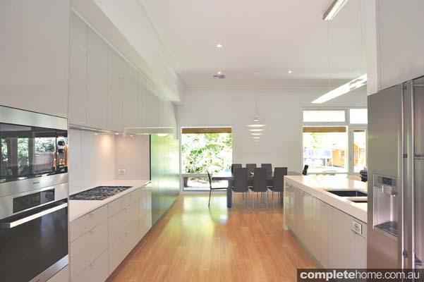 Jag Kitchen Timber Flooring Dining Area