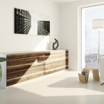 Storage solution: streamline wall units