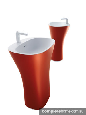 Falper Scoop Soft free-standing basin by Rogerseller