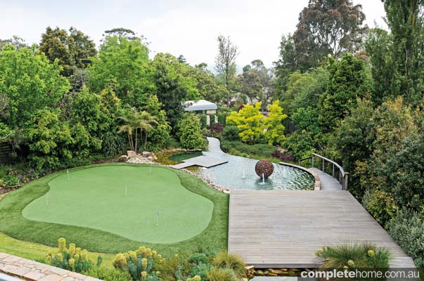 Plant diversity design delights completehome for Half acre backyard landscaping ideas