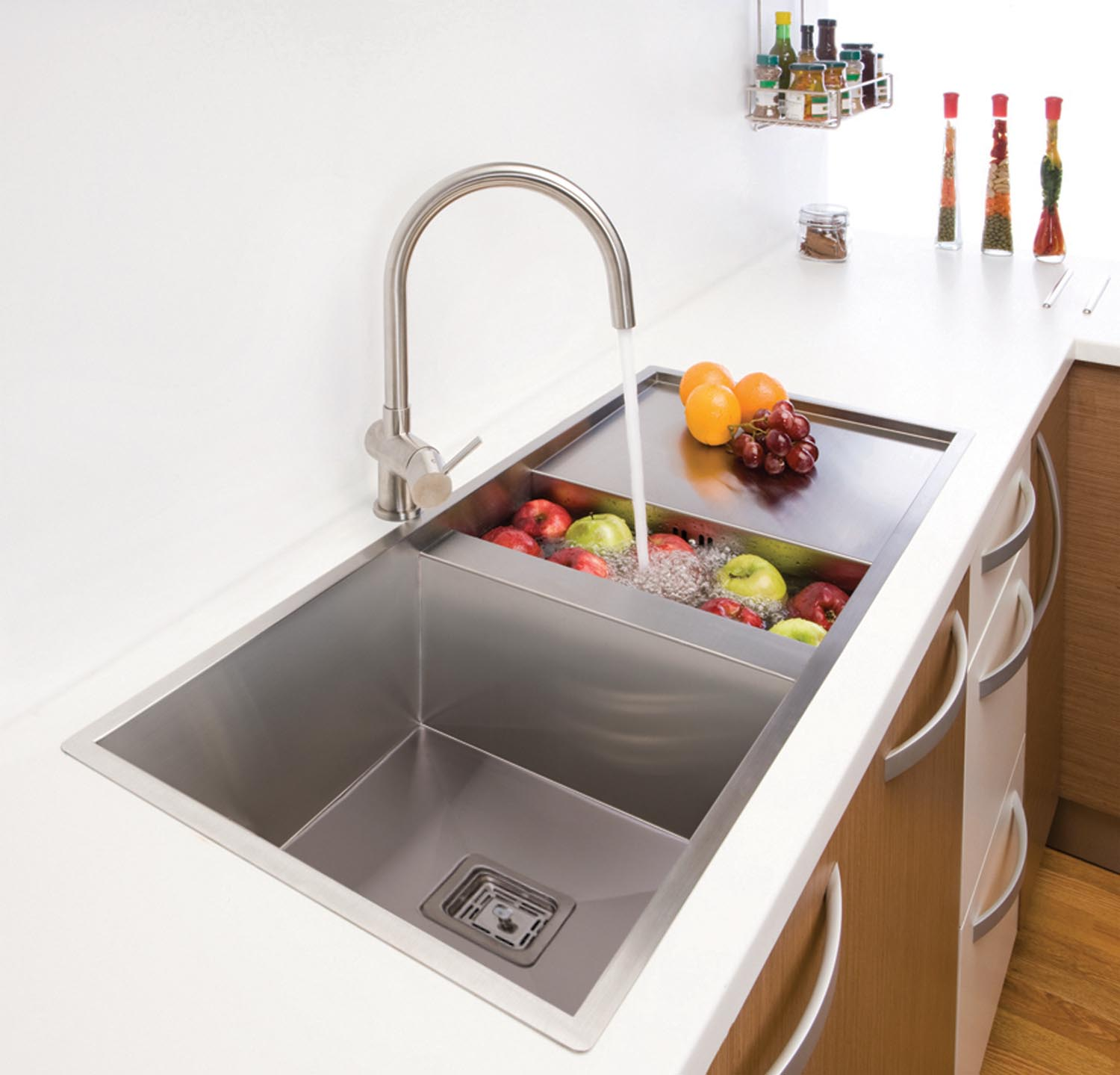 square sink kitchen square sinks original design and functionality completehome 2449