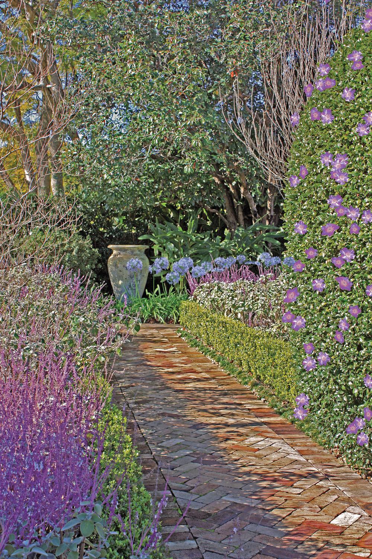 A Total Concept garden path
