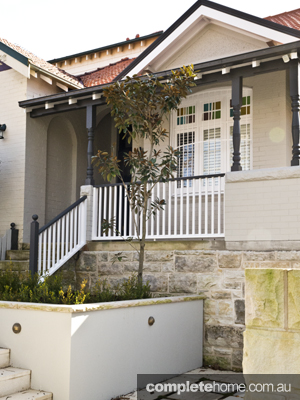 exterior of the mosman property