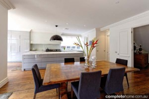 kitchen and dining area design