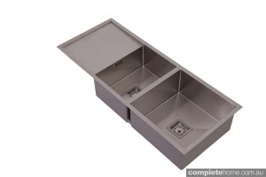 hafele 1.5 square sink with drying area