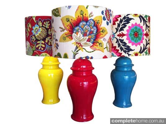 Large Ginger Jar Lamps
