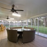 Bringing the outdoors in with an enclosed patio