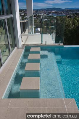 Triple Threat Multi Tiered Pool Design Completehome
