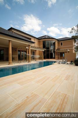 hardwood outdoor flooring