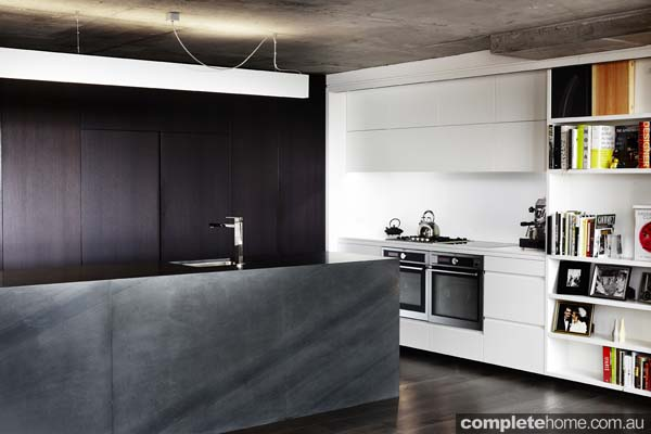 contemporary celebrity chef kitchen