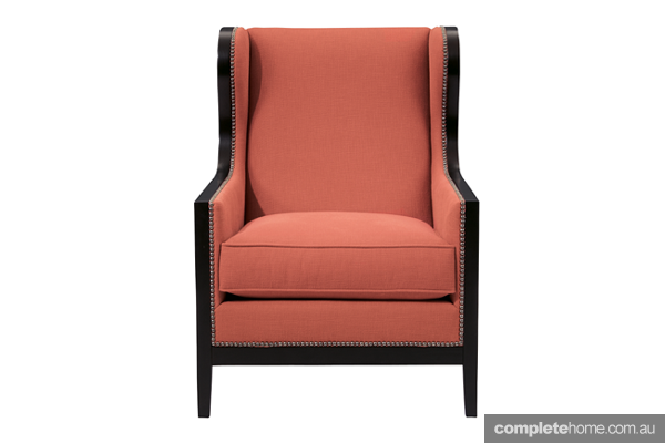 Coral retro chair by Bernhardt Interiors