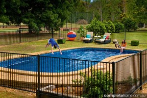 diy pool fencing