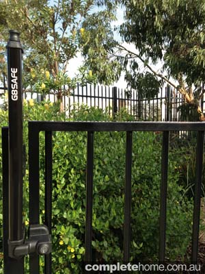 pool gate toggle fencing