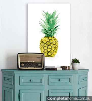 Pineapple Love Canvas