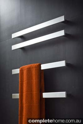 chic towel rail heater