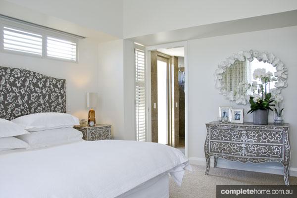 Sophisticated bedroom design