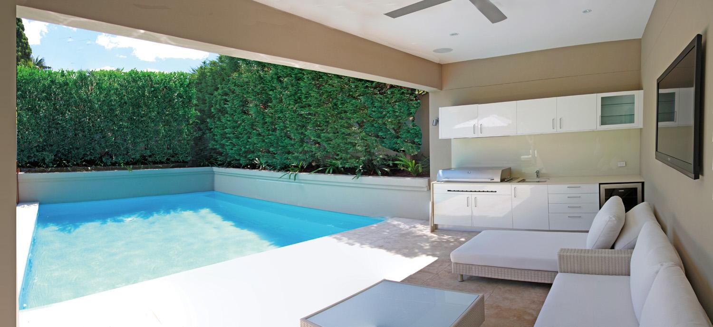 john storch outdoor poolside cabana ideas