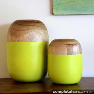 Vases - Lime Green