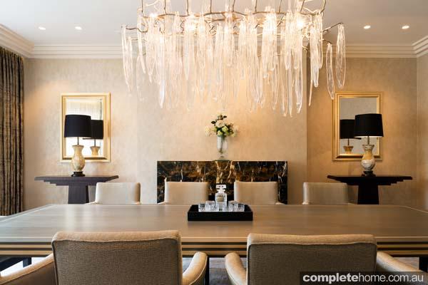 extravagant dining room design