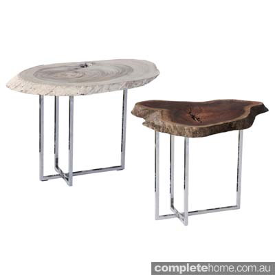 Antipodean slab tables by Cris Bucknall