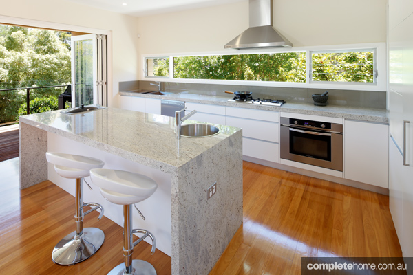 A sophisticated yet timeless kitchen facelift complete home for Federation kitchen designs
