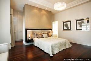 bedroom timber flooring