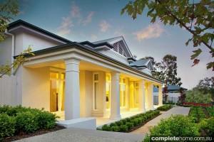 country house design modern lighting
