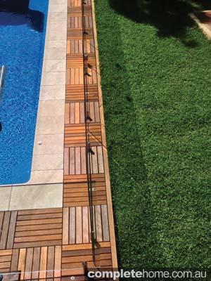 timber decking tiles