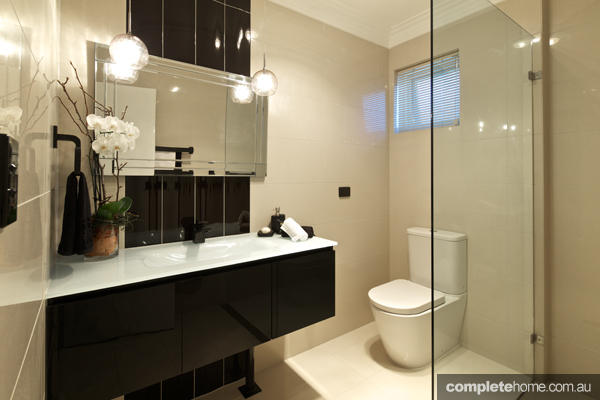 Dark yet stylish bathroom design ideas completehome for Bathroom designs brisbane