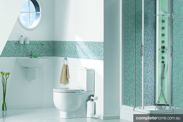 sanitary modern bathroom design and solutions