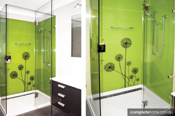 The Splashback Company striking green splashback design ideas