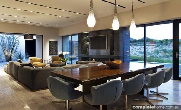 organic style lounge sustainable