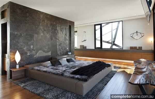 woven textured design bedroom