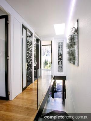 Forest lodge Grand Designs Australia - staircase