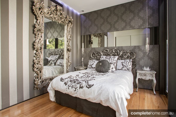 Grand designs australia futuristic forest lodge for Grand bedroom designs