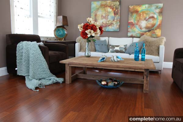 hardwood style bamboo flooring