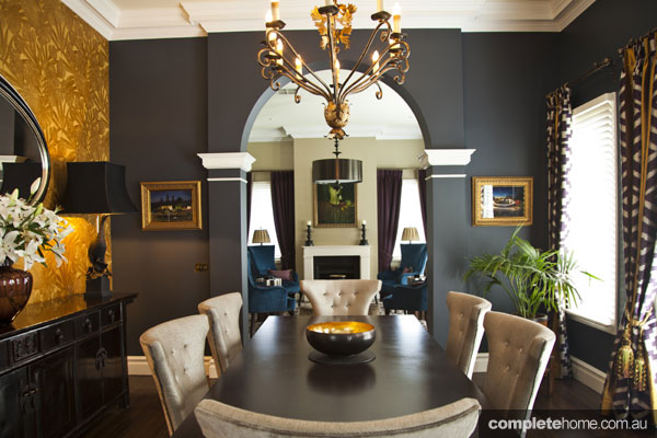 Opulent Interior Design - dining table