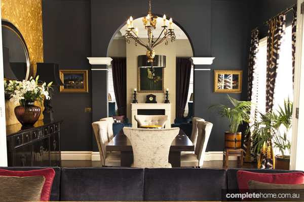 Opulent Interior Design - dining room design