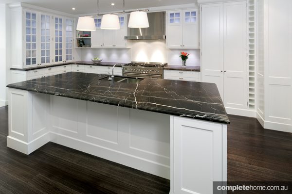 Drawing Inspiration From Movies And The Hamptons Alike, This Show Stopping  Kitchen By Art Of Kitchens Stays True To Traditional Hamptons Design, ...