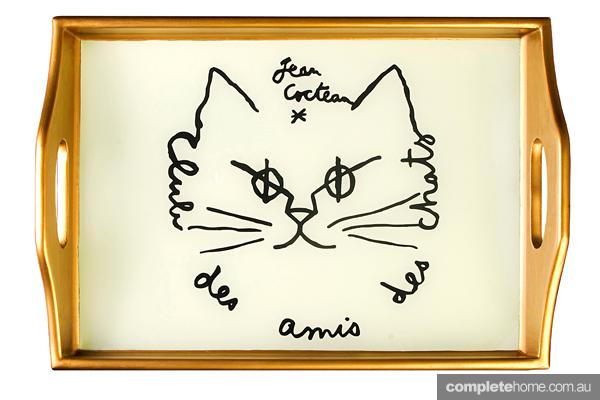 cat tray table