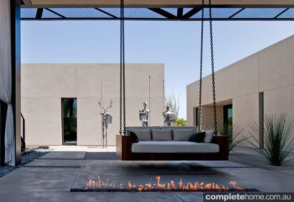 extravagant outdoor room