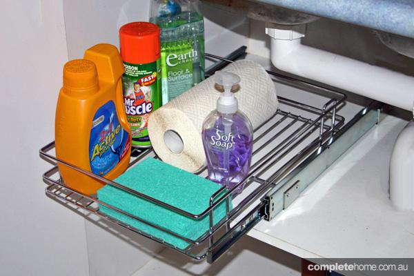 Clever under sink storage ideas