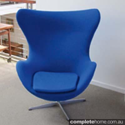 4 Egg Chair-Arne Jacobsen