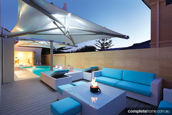 outdoor living modern design