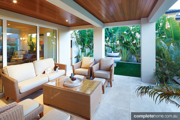 outdoor room modern design