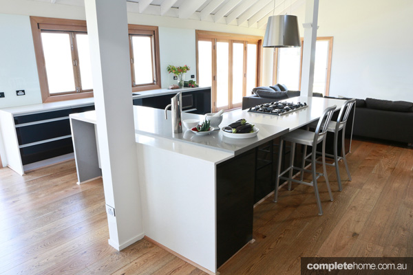 Guy Sebastian, one of Australias hottest music superstars briefed the Freedom Kitchens team to come up with a design solution for his property on the picturesque NSW South Coast.