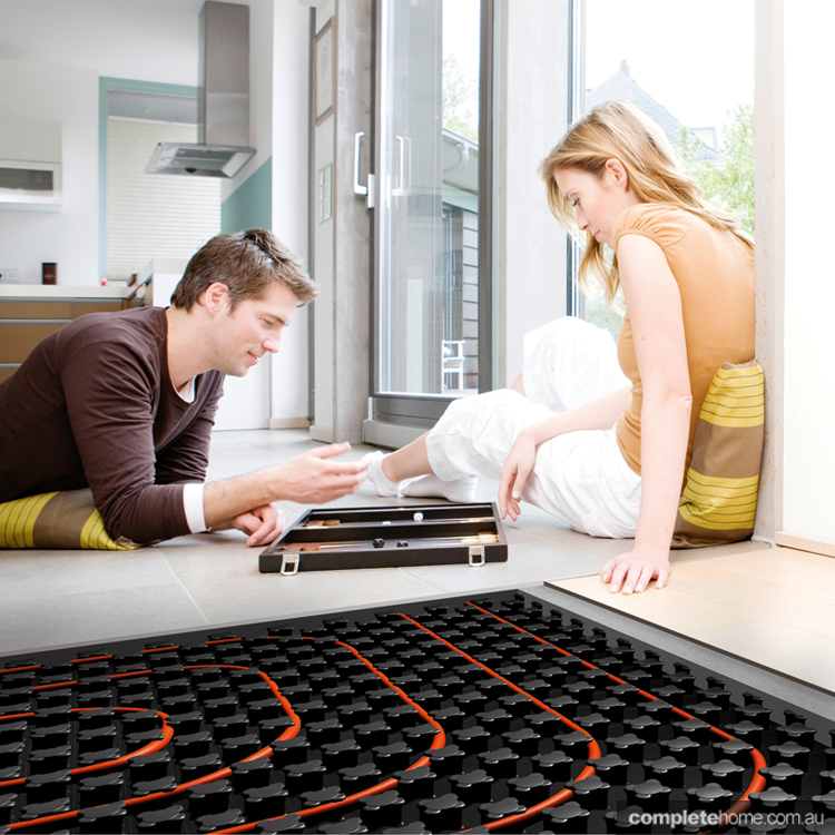 rehau under floor heating solutions
