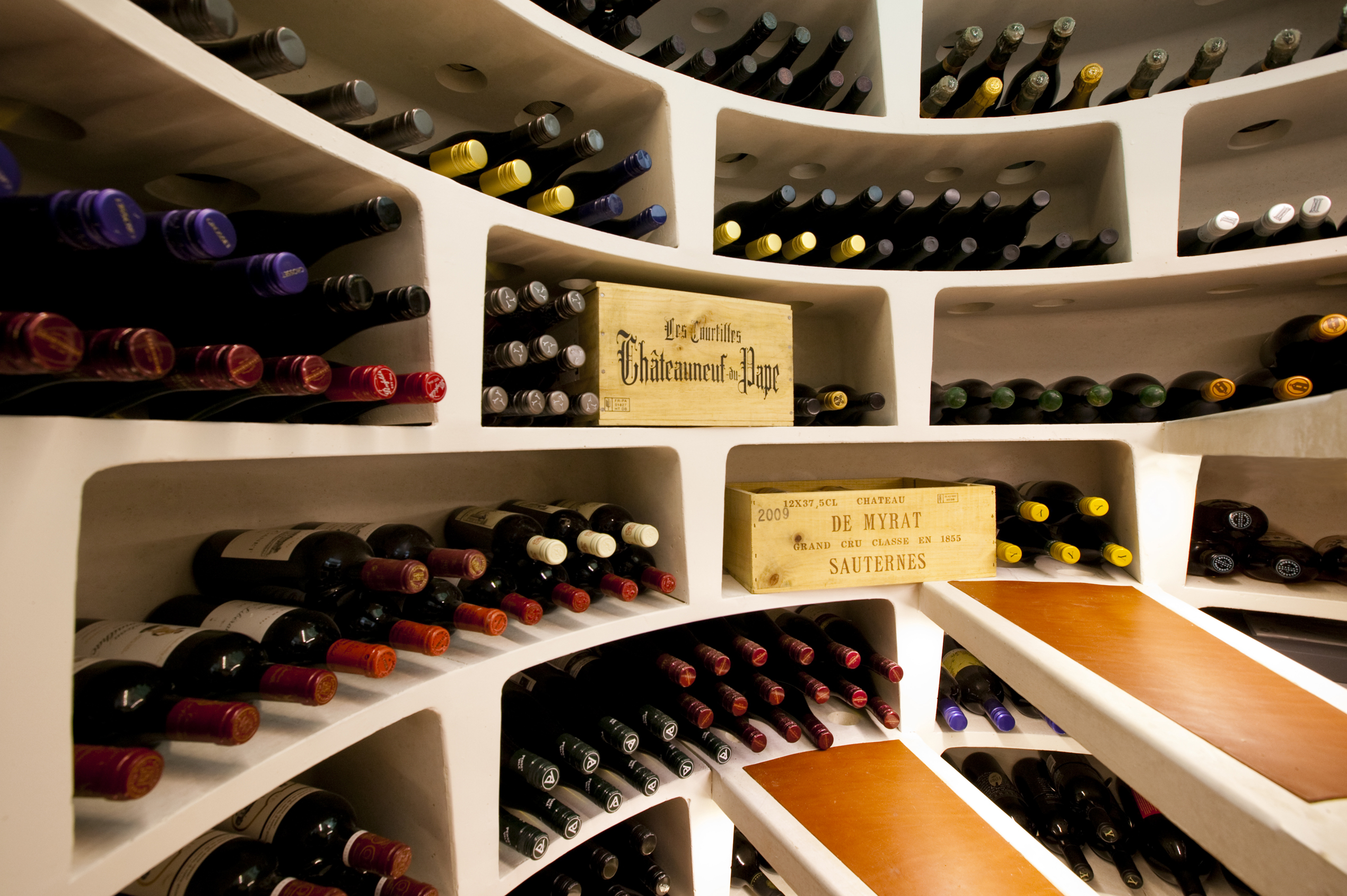 Wine cellars: storage solutions