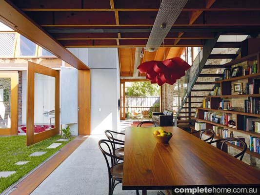 polished concrete flooring renovation